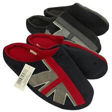 Mens Union Jack Slipper Classic Novelty Mule Mules Slippers UK 6 7 8 9 10 11 12