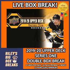 🔥🏒 2019-20 UPPER DECK SERIES ONE (x2) DOUBLE HOBBY BOX BREAK #117 🔥🏒