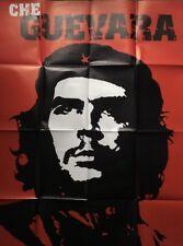 Original Vintage Poster Che Guevara Political Pin-up Military Leader Militia
