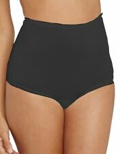 Vanity Fair Perfectly Yours 100% Nylon Full-Cut Black Brief Plus Size 12/5XL