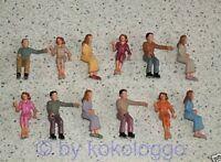 F3 k - LGB Spur G 48x Figuren sitzend ideal für Waggons und für Rennbahn 124