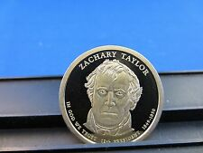2009-S Zachary Taylor Dollar-Deep Cameo Mirror Proof Upper Grading Ranges