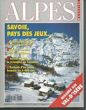ALPES MAGAZINE n° 13. VAL-D'ISERE, POTERIES, SAINTE-VICTOIRE ...   Z13C