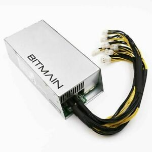 Bitmain APW3++ 1600W Power Supply 110/220 PCIE GPU Antminer S9 L3+ D3 A3 S7 Z9