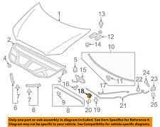 MITSUBISHI OEM 08-15 Lancer Hood-Release Cable Clip MU481269