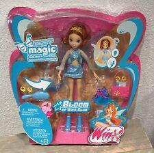 2005 Winx Club Flutter Magic Bloom doll NRFB Mattel Season 1 Rainbow HTF Rare