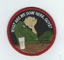 "HMLA-367 ""WHAT ARE WE DOING HERE?"" !!THEIR LATEST!! patch"