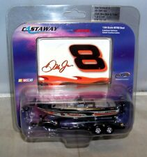 1 64 Action 2004 #8 DMP Win NITRO Bass Boat With Trailer Dale Earnhardt Jr