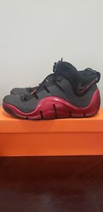 Nike Zoom LeBron IV 4 Black Varsity Crimson 2006 sz 12