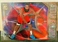 2019-20 Donruss Optic Fantasy Stars James Harden #11 Houston Rockets