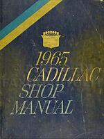 1965 Cadillac ORIGINAL Shop Manual Eldorado Deville Calais Fleetwood OEM Service