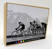 Urban Hunter 1/32 appx Scale White Metal - 2842 Tour de France set of 4 Bicycles