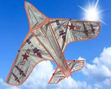 20 x LARGE army airplane - kite for boys + single line- family fun -easy to fly