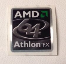 6x NEW AMD ATHLON 64 FX LOGO STICKER/LABEL