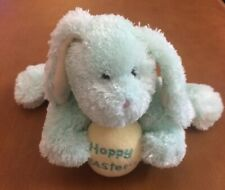"Boyd's Bear Light Green Bunny Plush With ""Hoppy Easter"" Egg 6"""