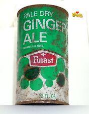 Finast Ginger Ale Flat Top Soda Can Somerville, Massachusetts 1St National Store