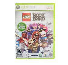 LEGO Rock Band (Microsoft Xbox 360) Queen, Pink, Bon Jovi Jackson 5 & More