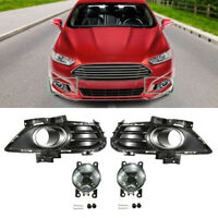Bapmic DS7Z-15266-A Front Fog Light Mount Bracket for Ford Fusion 2013 2014 2015 2016