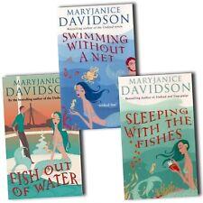 MARYJANICE DAVIDSON - FRED THE MERMAID TRILOGY - ALL 3 BOOKS - PAPERBACKS