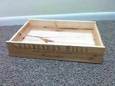 Wood Wine Box Case Crate Clarendon Hills 2006 Cabernet Sauvignon Hickinbotham