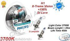 KIT 2 LAMPADA LAMPADINE PHILIPS H1 X-TREME VISION S2 12V 60/55W +130% XTREME