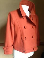 BELLISSIMO Crop Cappotto Giacca 12 Boho Hippy Vintage Militare 40 S 50 S 60 S PSY Sexy