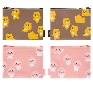 Kakao Friends Ryan Apeach Daily Fabric Multi Pouch April shower pattern