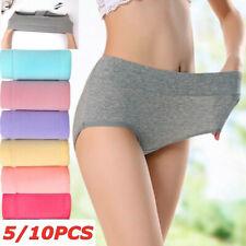 10PCS Women Panties Menstrual Period Leak Proof Seamless Briefs Cotton Underwear