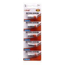 Set 5 Pezzi Pile Batterie Alcaline 27A 12V L828 Mn27 A27 LinQ Bat-27a