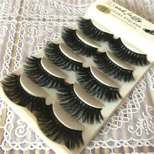 3D Faux Mink Black Natural Strip Long False Eyelashes Volume Eye Lashes Makeup