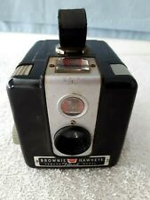 Vintage Antique 1950's ~ BROWNIE HAWKEYE ~ Flash Model Old Camera Leather Strap