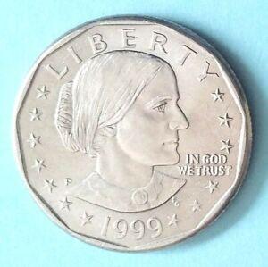 1999 P Susan B Anthony Dollar