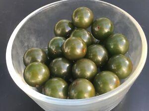 18 Bakelite 18mm Deep Green  Loose Beads With Holes