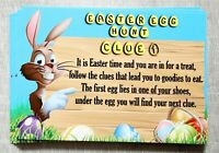Easter Egg Hunt Clues Basket Lockdown Games Kids Party Ideas Treats Home Garden