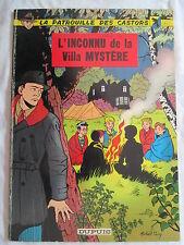 LA PATROUILLE DES CASTORS 3 L'INCONNU DE LA VILLA MYSTERE 1966
