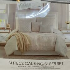 Macy's bed in a bag 14 California King piece set - Retails $460