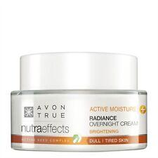 AVON True Nutra Effects Active Moisture Radiance Night Cream 1x50ml NEW