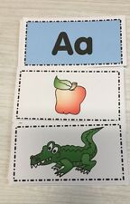 Letters and Pictures - Beginning Phonics Sorting  Kit - Montessori Inspired