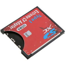 Portable SDXC SDHC SD to CF Compact Flash Memory Card Reader Adapter Type I US