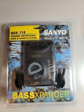 NEW Sanyo Bassxpander AM/FM Cassette Walkman MGR-710 NOS Sealed