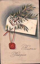 CARTOLINA DEL 1930 DA ONZO PER MILANO - BUONA PASQUA -  C10-453