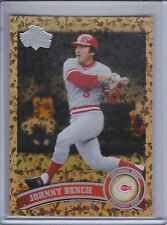 JOHNNY BENCH 2011 Topps Cognac Diamond Anniversary #198B  (C1434)