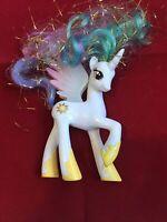 "2015 My Little Pony FiM G4 4"" Princess Celestia Tinsel Hair Brushable Figure MLP"