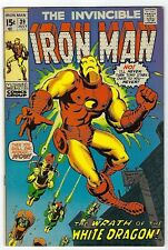Invincible Iron Man # 39 FN Marvel 1973