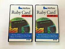 Verifone Ruby Card With Hpv 20 Car Wash Bravo Plu Card P040 07 506 Sapphire