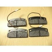 Microcar SET OF  front brake pads - fits MC1 and MC2