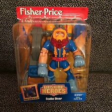 Fisher-Price Rescue Heroes - Scuba Diver - New In Box