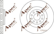 FRONT BRAKE DISCS (PAIR) FOR SEAT LEON GENUINE APEC DSK2473