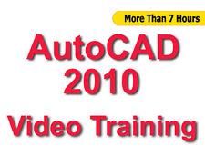 AutoCAD 2010 Video Training tutorials CBT - 7+ Hours