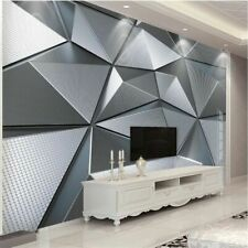 3d Wallpaper Photo Mural Geometric Wall Sticker For Living Room Bedroom